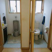 男性用小便器・洋室トイレ(共用)